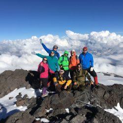 ФОТО ВОСХОЖДЕНИЕ НА ЭЛЬБРУС С ЮГА (Западная 5642 м)
