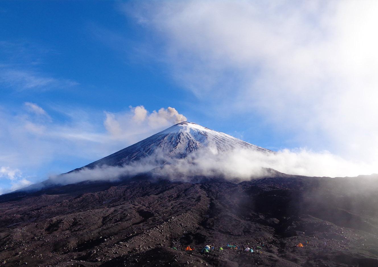 КЛЮЧЕВСКАЯ СОПКА (4750 м)