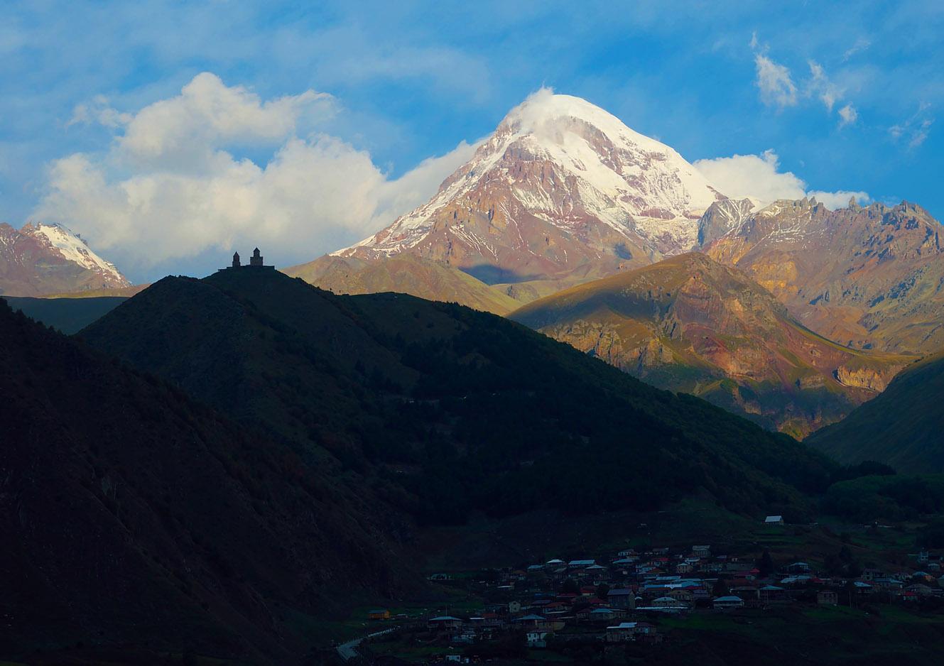 КАЗБЕК ИЗ ГРУЗИИ (5033 м)